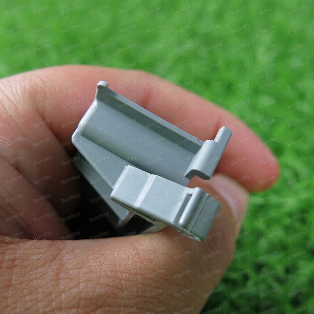 222 510 Angled Din Rail Adapter Combination With Mounting