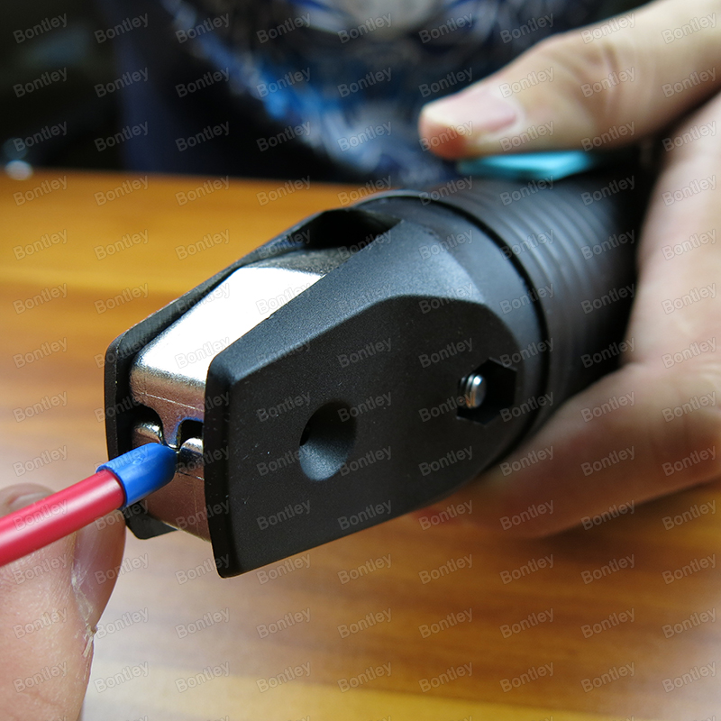 Handheld Pneumatic Ferrule Crimper For Wire Ferrules